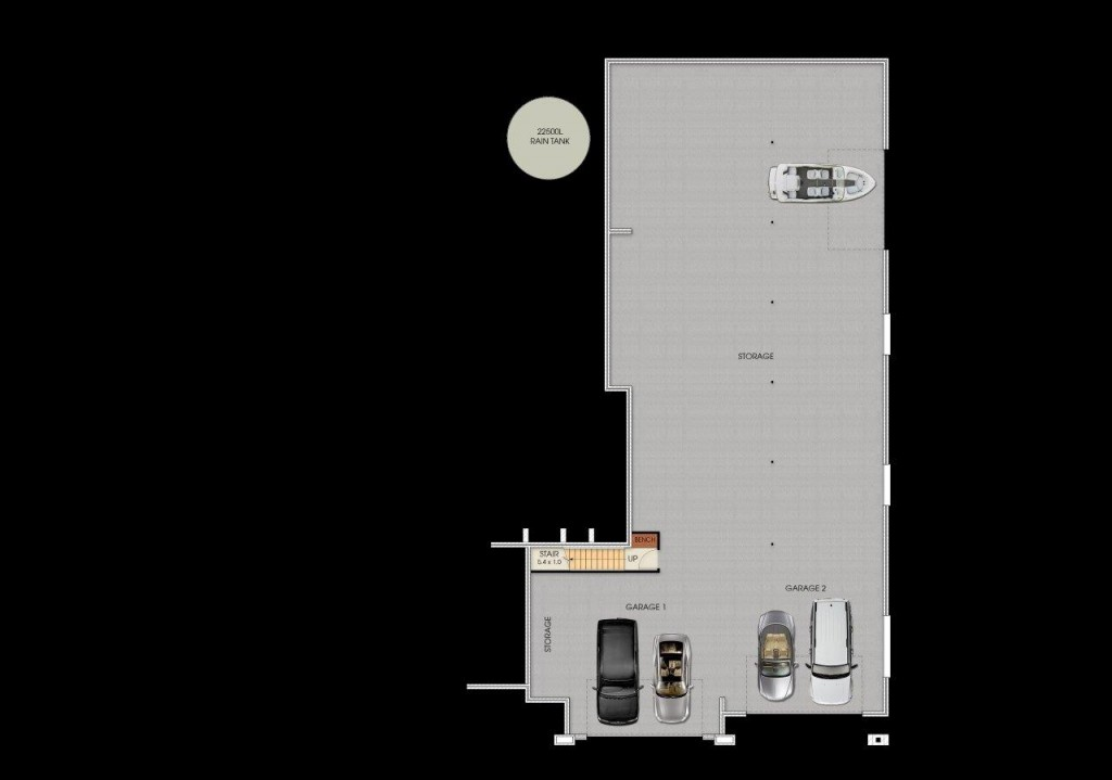 2 Storey Plenty - Lower Floor Plan