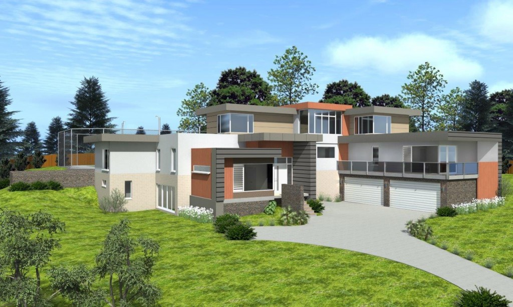 3 Storey Plenty - Final Image Front View