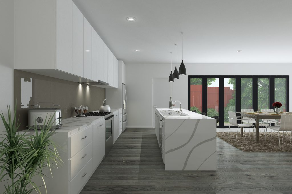 Kitchen (Unit 2) - Final Image 1